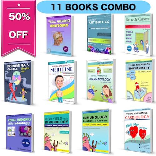 11 BOOKS COMBO